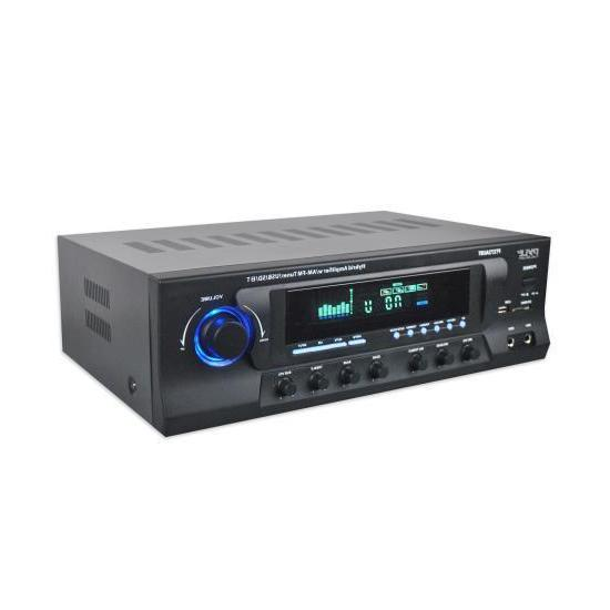 Pyle PT272AUBT 300 Watt Stereo Amplifier Receiver USB/SD,Blu