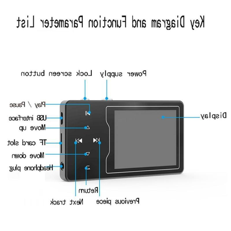 RUIZU D08 4.0 HiFi With 2.4 Inch Screen