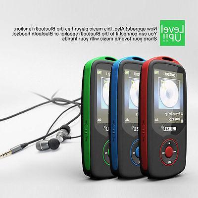 RUIZU X06 Bluetooth Sports MP3 Player 1.8'' Screen 100hours