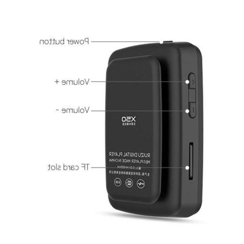 RUIZU / 8GB, Bluetooth, Radio, Playback