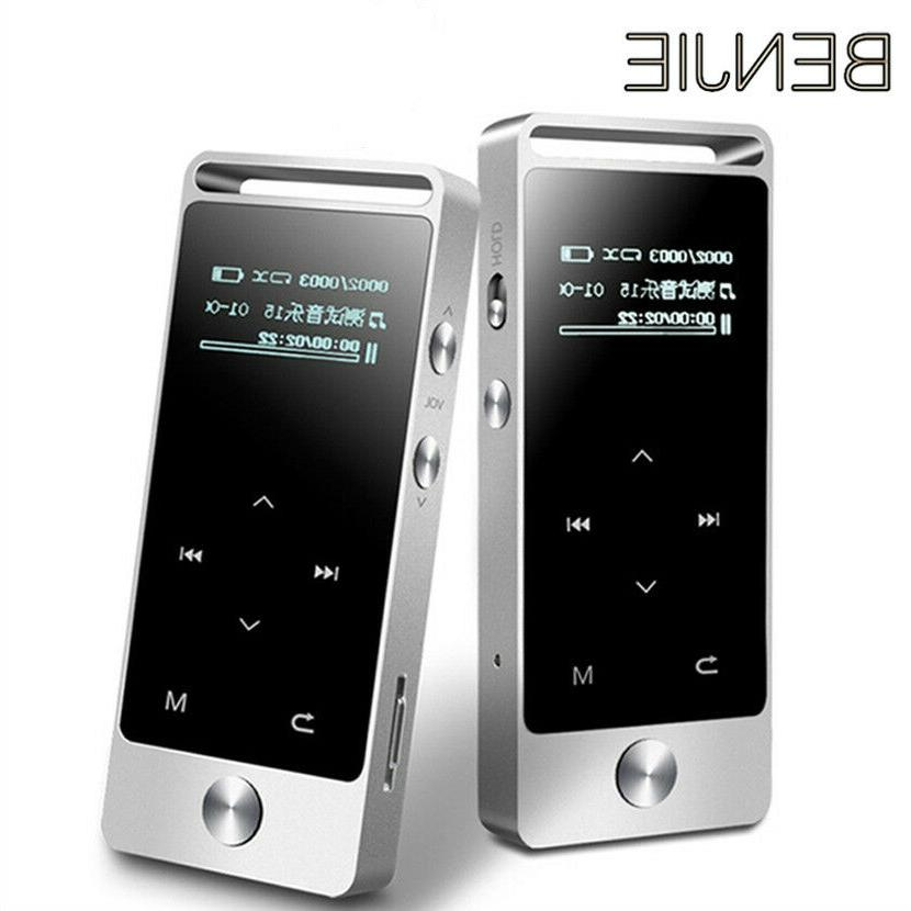 s5 bluetooth mp3 music player touch screen