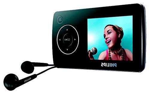 Philips SA32 Flash Player with FM Radio 1.8-Inch Screen