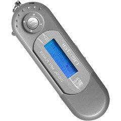 Nextar Silver 1GB Digital MP3 Player With LCD Display