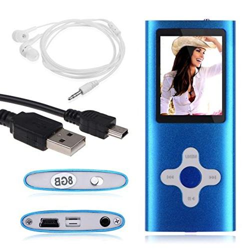 slim mp3 mp4 player fm