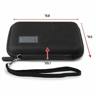 USA Gear Case with Strap, Accessory Pocket, Strap