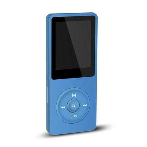 Agptek SMP3BL 8 GB Flash MP3 Player - Blue - e-Book, FM Tune