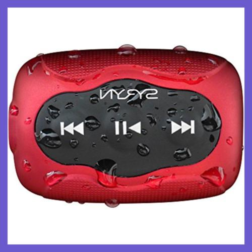 sport headphones and 8 gb syryn waterproof