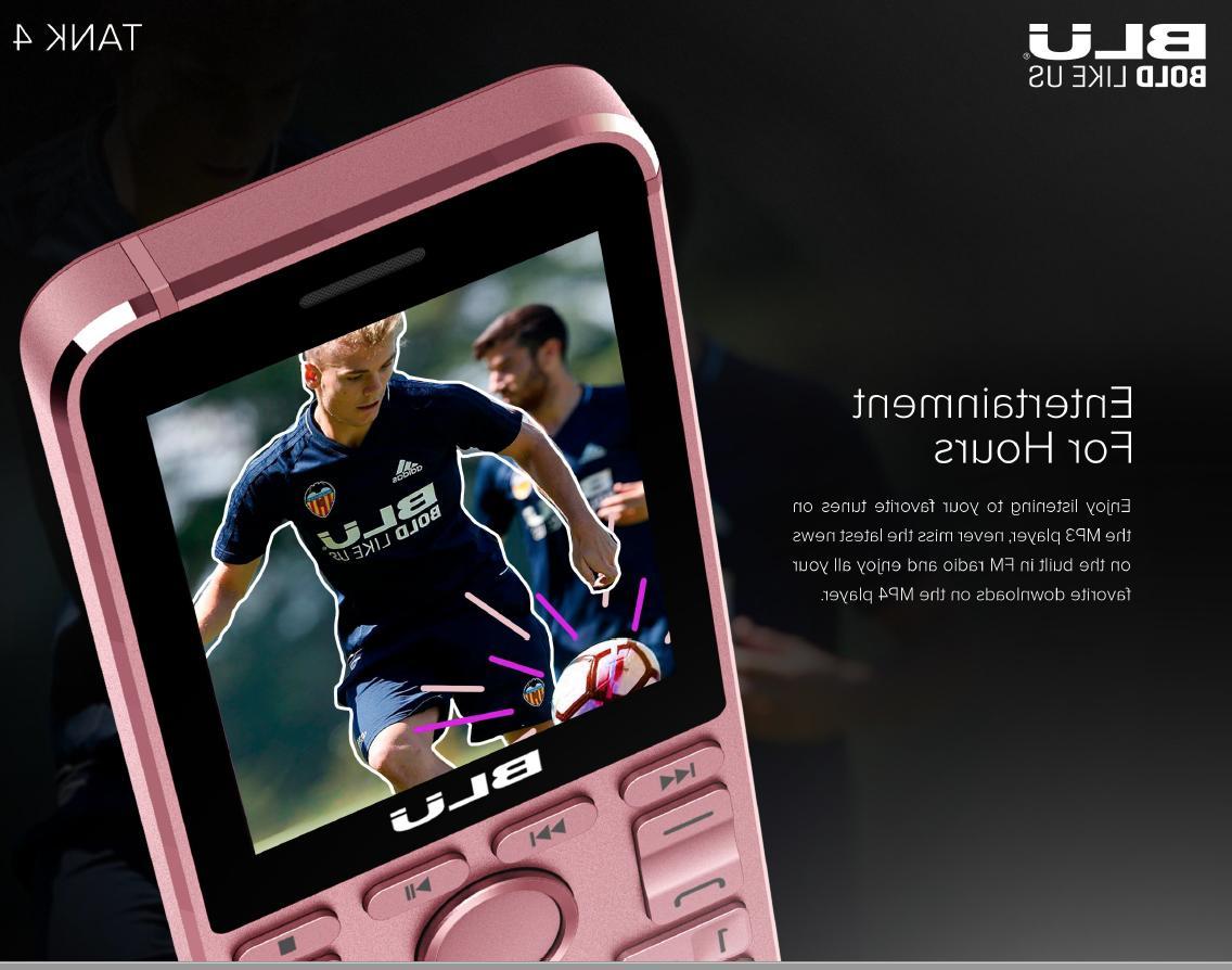 BLU Tank Unlocked GSM w/ FM Player -