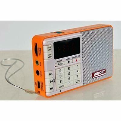 Tescun MP3 FM Radio And &amp