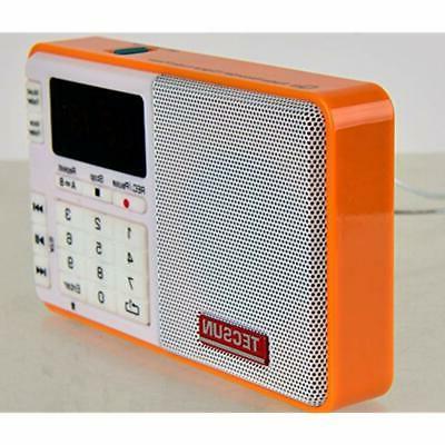 Tescun Q3 Mini Size MP3 Player, Radio And Voice/Radio Recorder &amp