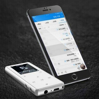 Portable MP3 Bluetooth Player FM Lossless 128GB