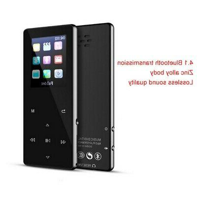 Portable MP3 Bluetooth Music Player with FM Hi-Fi Lossless S