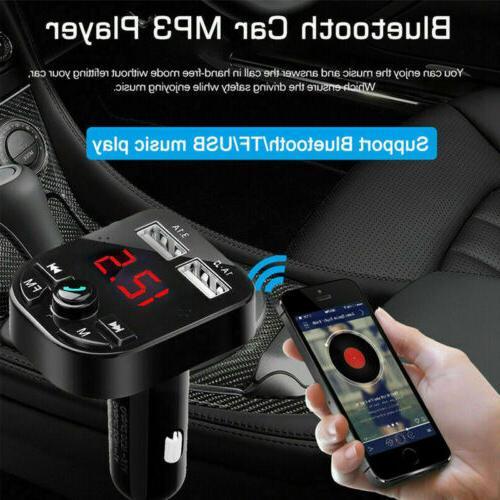 USA Bluetooth Car Charger Radio