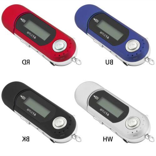 Portable Music Player USB Digital Screen Support FM
