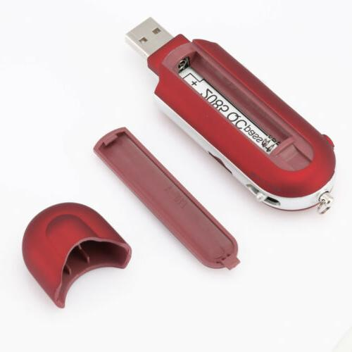 Portable USB LCD Support Flash FM Radio