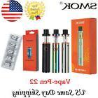 Smok Vape-Pen 22 Starter Box Full Mod Start Kit 1650mAh 0.3/