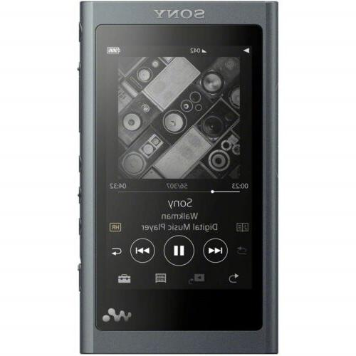 SONY Walkman A Series 64GB NW-A57 Audio Player Hi-Res Black