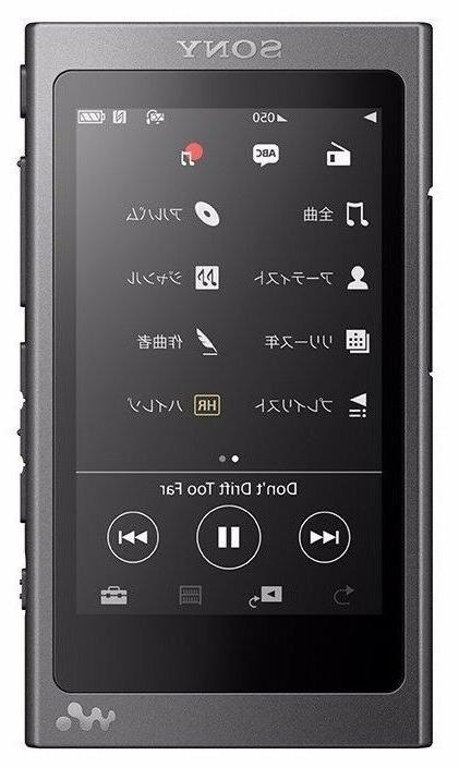 SONY NW-A35 B 16GB High-Resolution Audio JAPAN