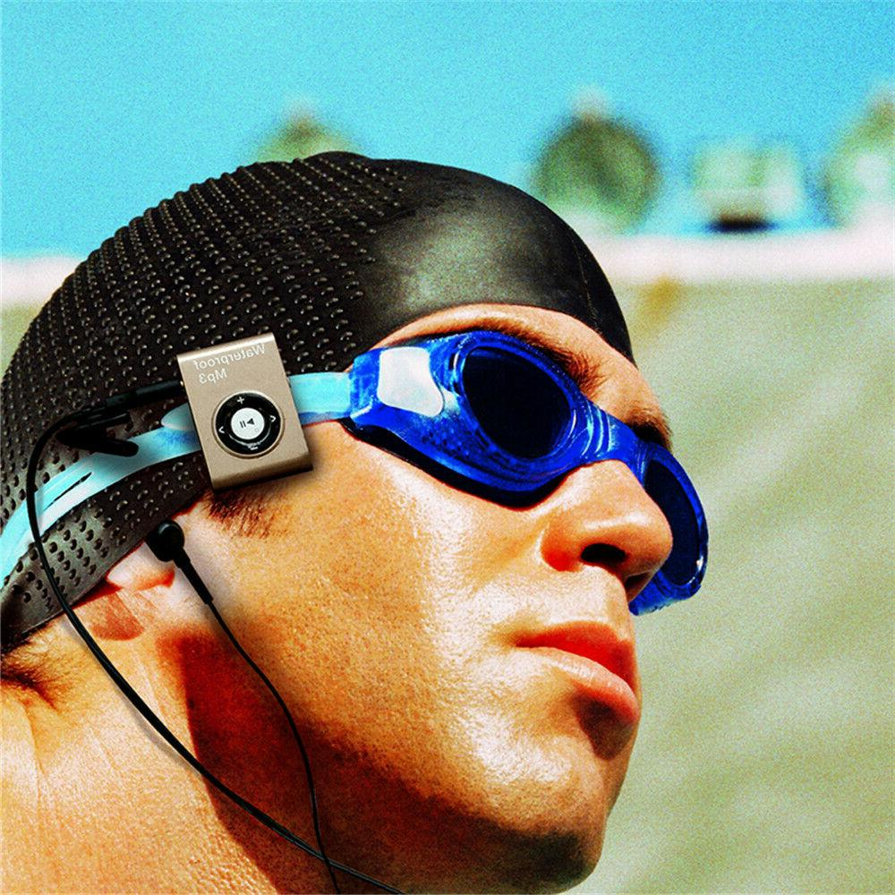 Waterproof Swimming Built-in 8GB FM Radio & Feature
