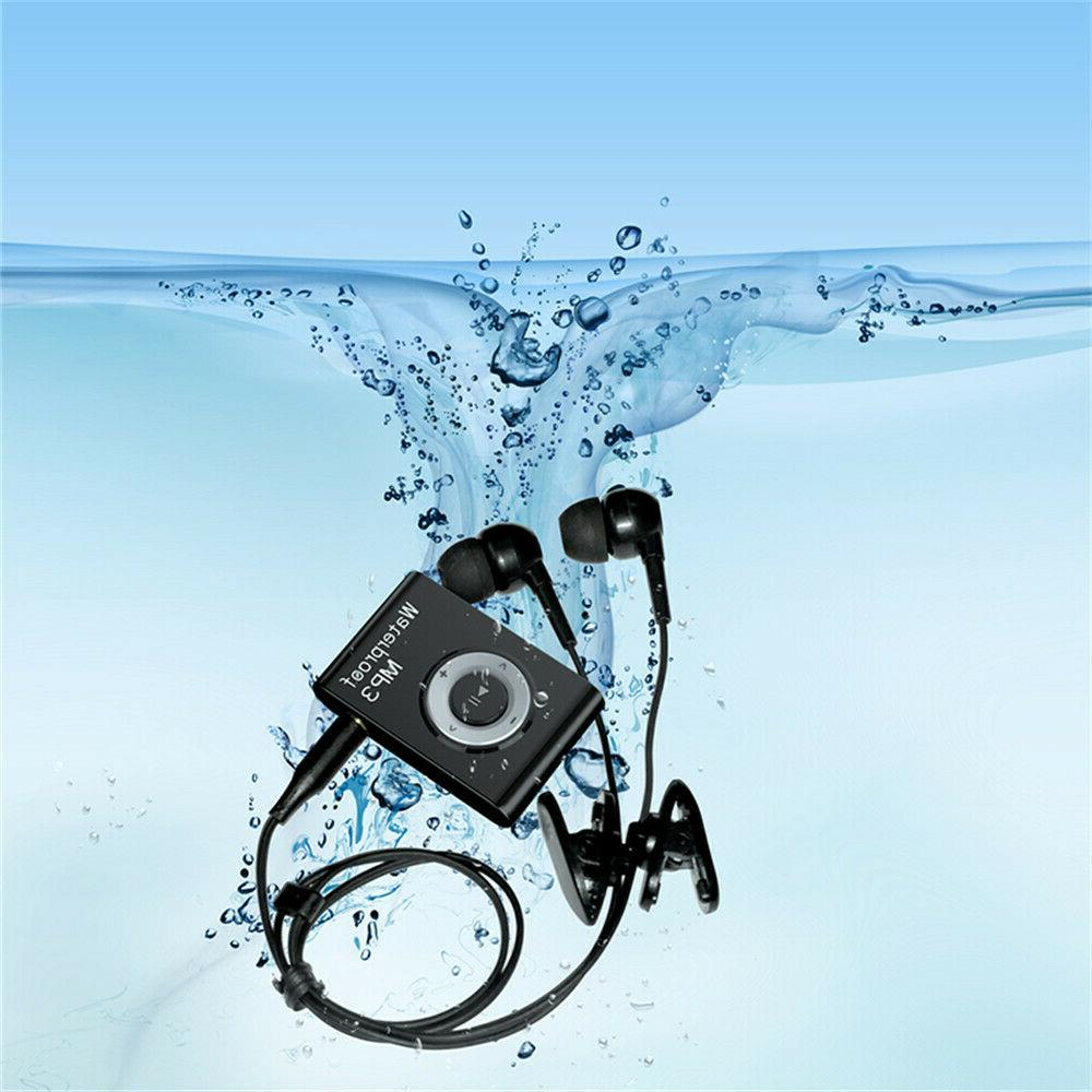 Waterproof Built-in 8GB Music W/ FM Feature