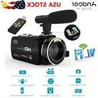 Andoer WiFi Ultra HD 1080P 24MP Digital Video Camera DV Camc