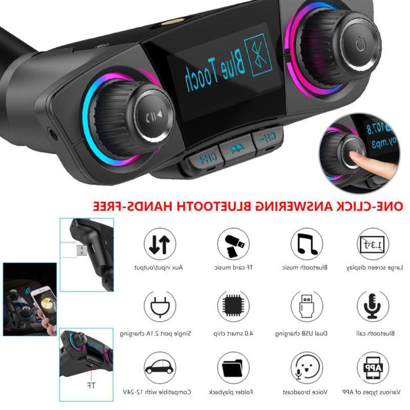 Wireless Bluetooth Car MP3 Player FM Transmitter Radio Adapt