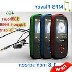 "Wireless Bluetooth MP3 Player RUIZU X06 1.8"" TFT Lossless So"