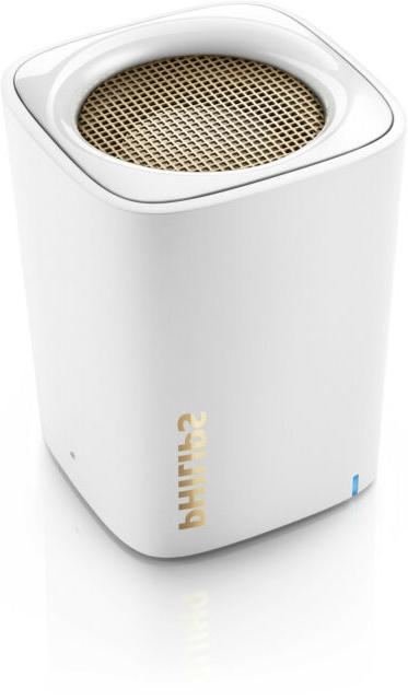 * Wireless Portable Speaker Bluetooth Philips Bt100w White