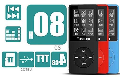 RUIZU Ultrathin 4GB MP3