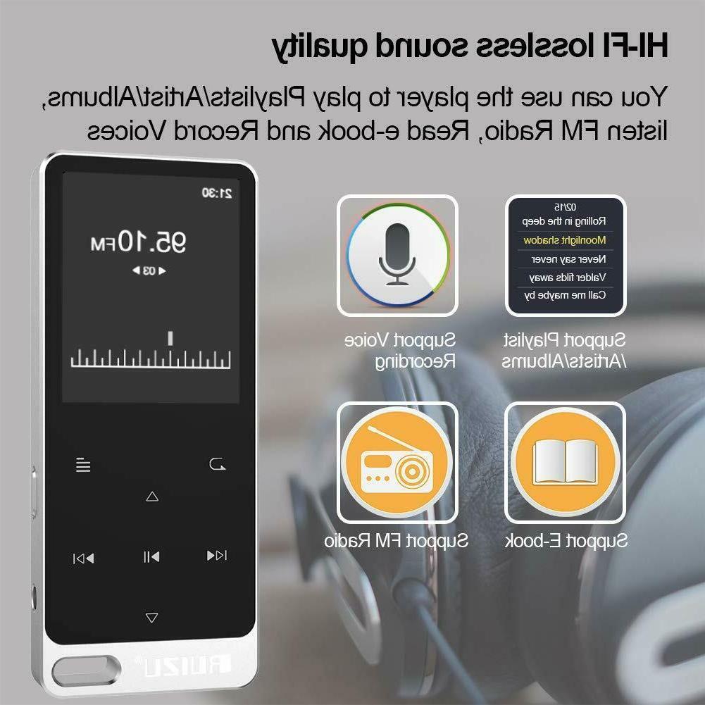 RUIZU X19 Built-in Speaker, with Radio.