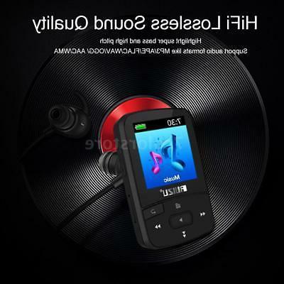 RUIZU 1.5in Lossless MP3/4 Player 8GB FM Recorder