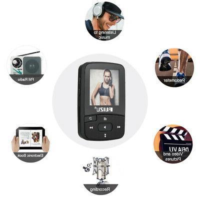 RUIZU X50 8GB 1.5in MP3 MP4 Player HiFi BT TF Card FM Recording