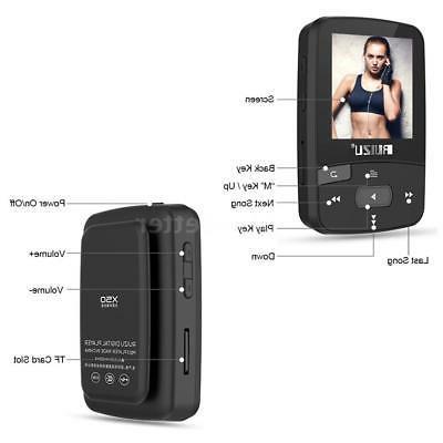 RUIZU X50 MP3/4 Music Player Lossless FM 8G Bluetooth