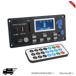 LCD Bluetooth MP3 Decoder Board WAV WMA Decoding MP3 Player