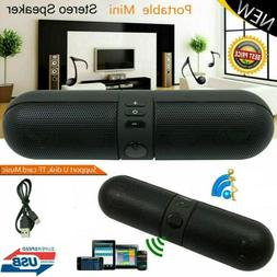 LOUD Bluetooth Wireless Speaker Stereo Super Bass USB Flash