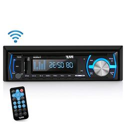 Pyle Marine Bluetooth Stereo Radio - 12v Single DIN Style Bo