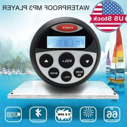 Waterproof Marine Boat FM Radio Bluetooth Stereo Receiver Ca