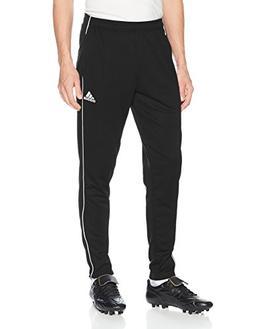 adidas Men's Soccer Core 18 Training Pants, Black/White, Med