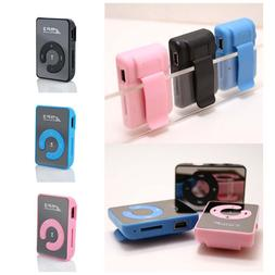 Mini 5 Color Mirror Clip USB Digital <font><b>Mp3</b></font>