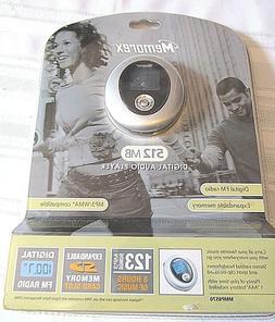 memorex MMP8570 512 MB MP3 PLAYER