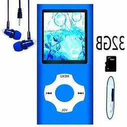 MP3 & MP4 Players / Player, Music With 32GB Memory SD Card S