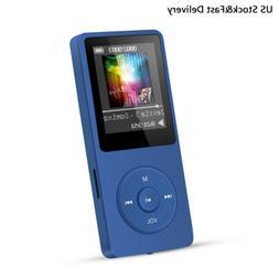 AGPTEK MP3 HIFI Lossless Music Player FM Radio 8GB 70 Hours