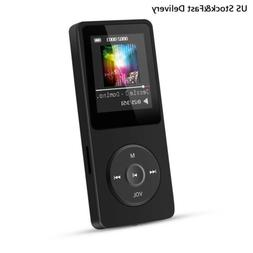 AGPtEK MP3 Music Player HIFI Lossless 16GB Support 70 Hours