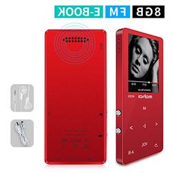 MYMAHDI MP3/MP4 Music Player,8GB Portable Audio Player with
