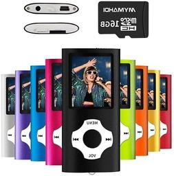 MYMAHDI MP3/MP4 Music Player With 16 GB Micro SD Card(Expand