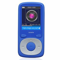 Wiwoo 8GB MP3/MP4 Player With FM Radio/Voice Recorder, With