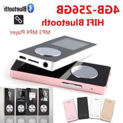 MP3 MP4 Player Portable Walkman 4-256GB HIFI Bluetooth Music