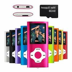 Mymahdi MP3/MP4 Portable Player1.8 Inch LCD ScreenMax Suppor