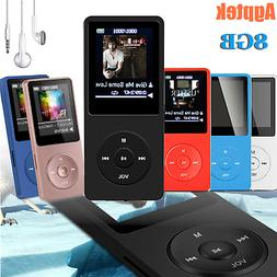 Agptek MP3 Music Player FM Radio Lossless Sound Recorder Pla