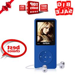 MYMAHDI 16GB MP3 Music Player 1.8 Inch Screen 70h Lossless S